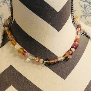 Glass Beaded Multicolor Necklace